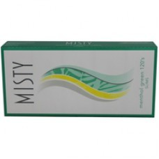 Misty Menthol Green 120s All
