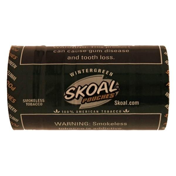 Skoal Classic Wintergreen Pouches - Tobacco